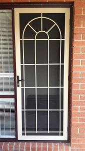 Aluminium security door in Mordialloc