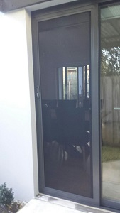 Security Screen Door Hampton
