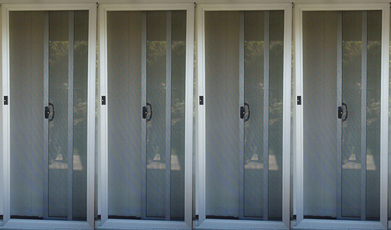 Heavy-Duty or Light Security Screen Doors