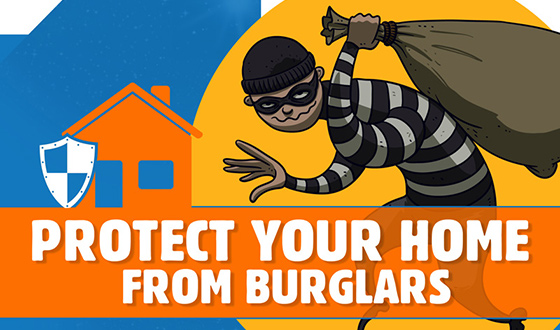 Things you should know to Protect Your Home from Burglars